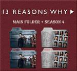 13 Reasons Why Main Folder + Season 4 Icons