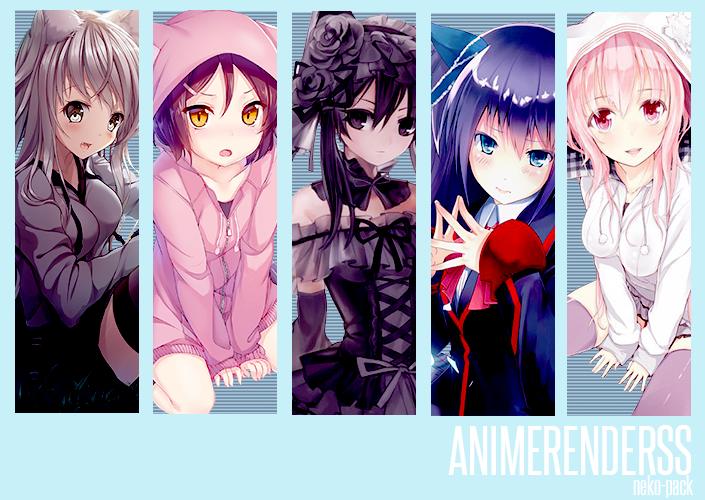 Anime Render Pack  By Animerenderss