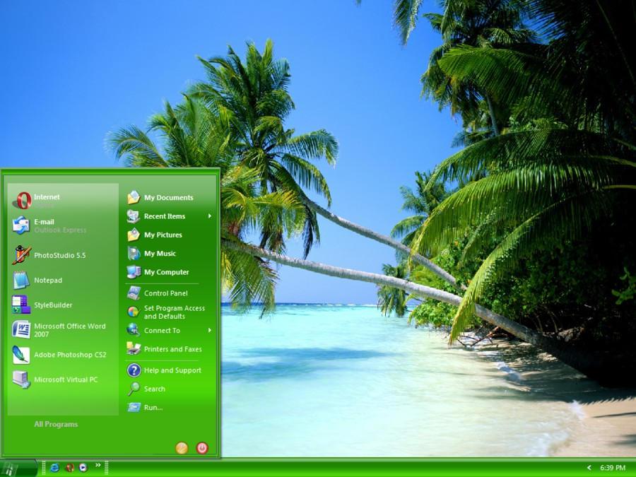 poder do verde como tema no XP!