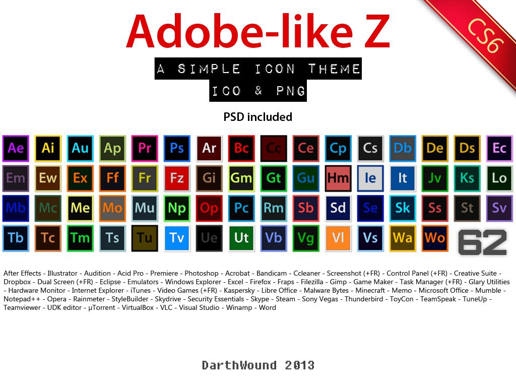 Adobe-Like Z (CS6) 0.1 by DarthWound