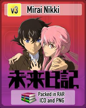 Mirai Nikki v3 Anime Icon
