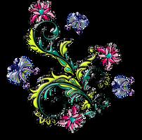Ornamento-floral.16  by Creaciones-Jean