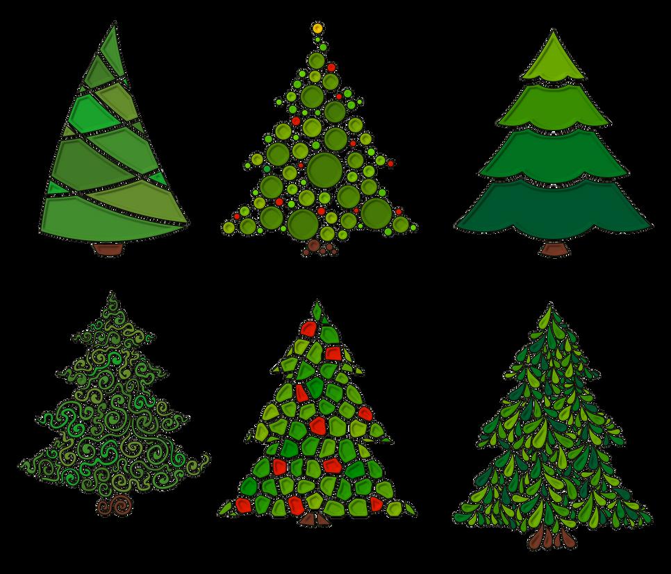 Arbolito navidad 01 textura borde elevado by creaciones - Arbolito de navidad ...