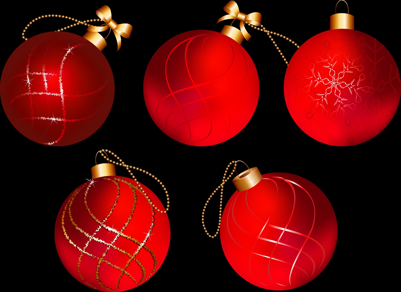 Bolas De Navidad Rojas Sobre Fondo Verde: Bolas-navidad-rojas By Creaciones-Jean On DeviantArt