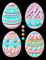 Linea-de-arte-huevos-de-pascua-22 by Creaciones-Jean