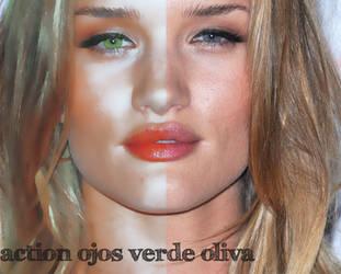 Ojos verde oliva action by GalaMurphy