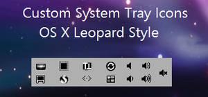 Custom OS X System tray Icons