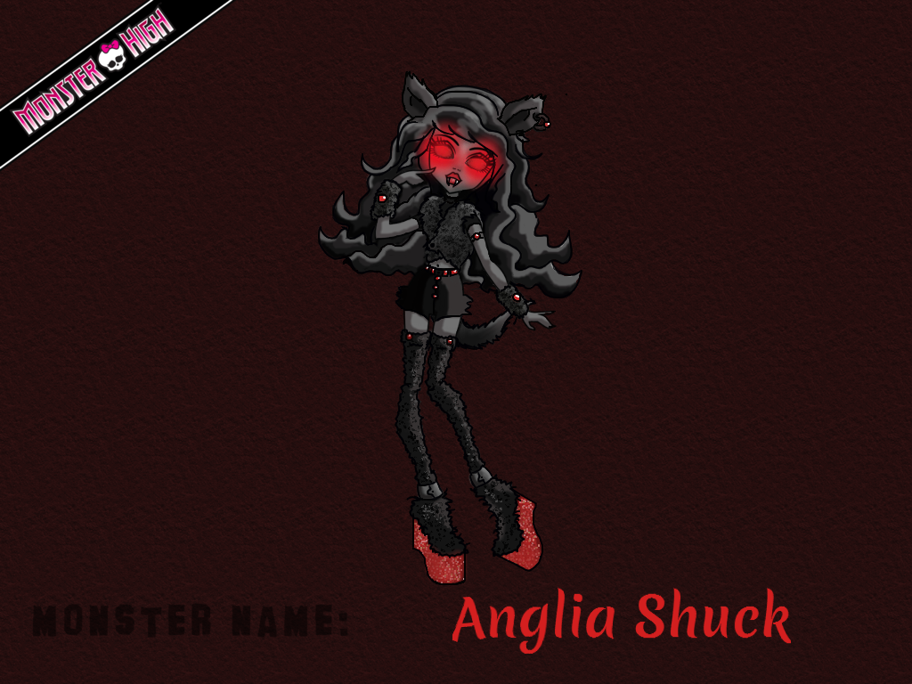 Monster High - Anglia Shuck by E-raserhead