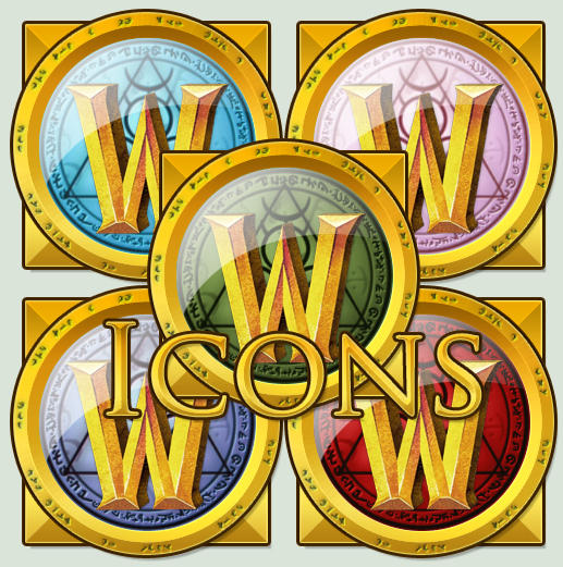 WOW 5 Icon Set Mac and Win by The-Beats