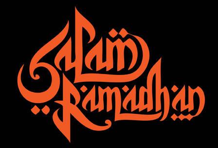 Free Download: 5 Seni Tulisan Salam Ramadhan dan Idulfitri (Vector ...