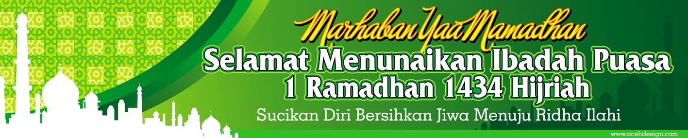 spanduk ramadhan 1434 H from acehdesign by batatx