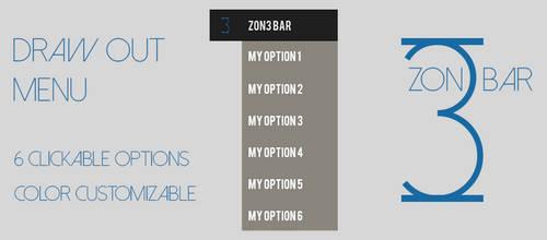 Zon3 Bar 1.0.0 by Jam3sn