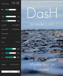 DasH 1.0.0 by Jam3sn (v1.1 in the description) by Jam3sn
