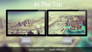 At the Top dual monitor