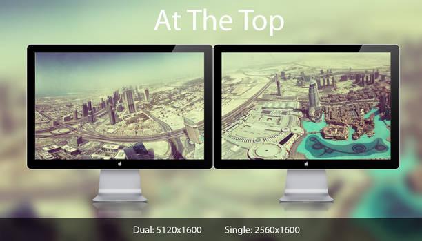 At the Top dual monitor