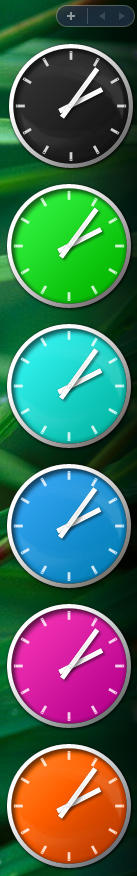 Clock colour pack by JoshyCarter