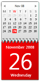 Red Calendar by JoshyCarter