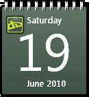 DeviantART Calendar win7 by JoshyCarter