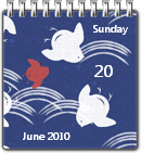 Japanese Calendar by JoshyCarter