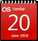 Last.fm Calendar win7 by JoshyCarter