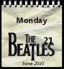 The Beatles Calendar win7