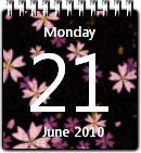 Flower Calendar win7 by JoshyCarter