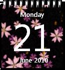 Flower Calendar win7 by JoshyCarter