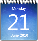 Ice Calendar win7 by JoshyCarter