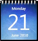 Ice Calendar by JoshyCarter