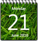 Grass Calendar win7 by JoshyCarter