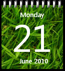 Grass Calendar win7