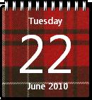 Tartan Calendar win7 by JoshyCarter