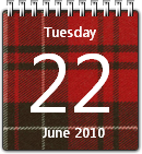 Tartan Calendar by JoshyCarter
