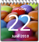 Sweet Calendar win7 by JoshyCarter