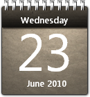 Musty Calendar win7 by JoshyCarter