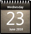 Musty Calendar by JoshyCarter