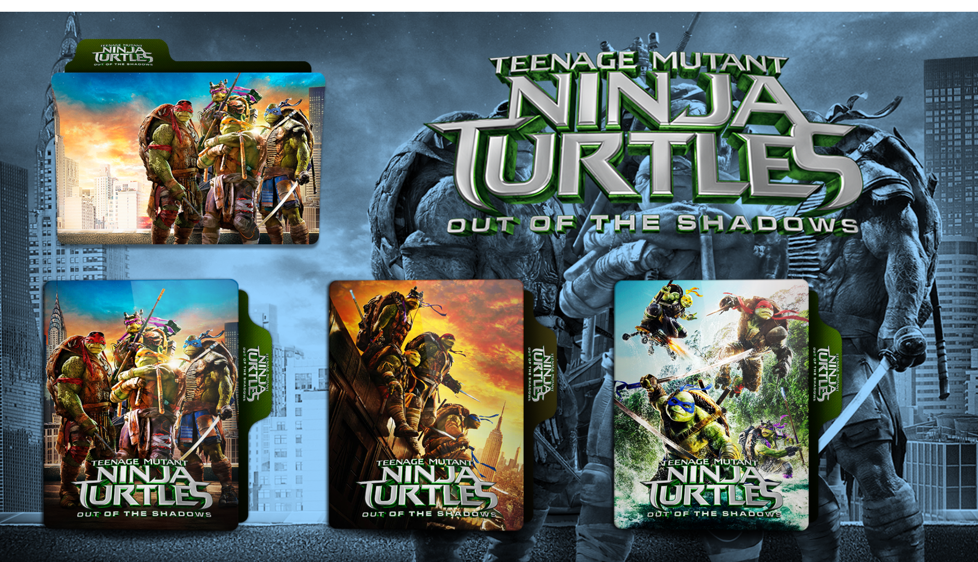 Folder Icon Teenage Mutant Ninja Turtles 2 V1 By Faelpessoal On Deviantart