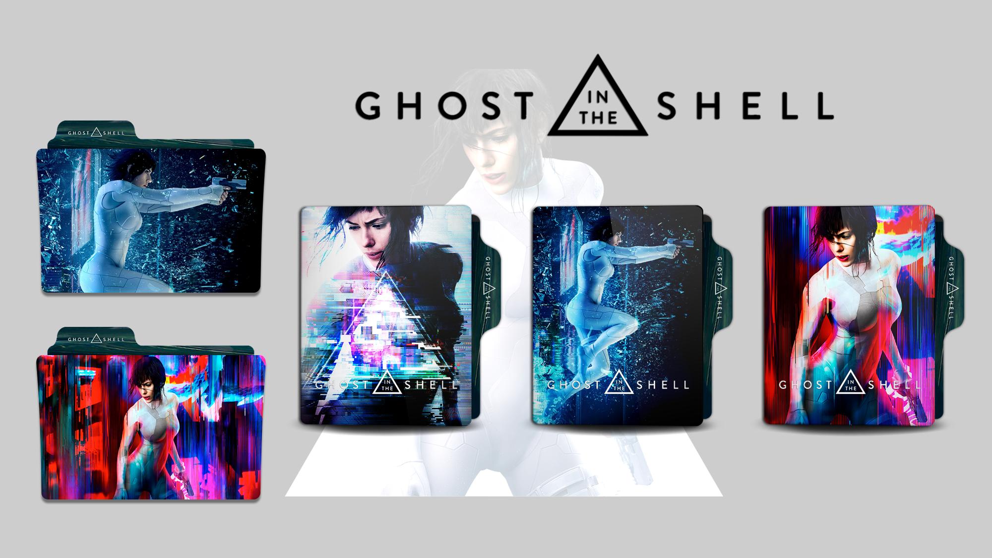 Ghost In The Shell Folder Icon By Faelpessoal On Deviantart