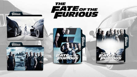 The Fate of the Furious Folder Icon by faelpessoal