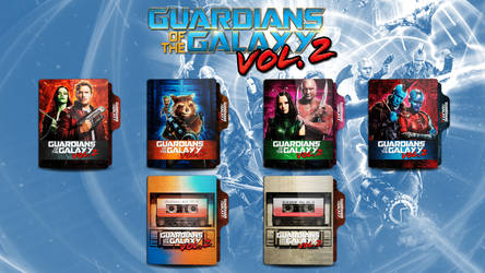 Guardians of the Galaxy 2 V2 Folder Icon by faelpessoal