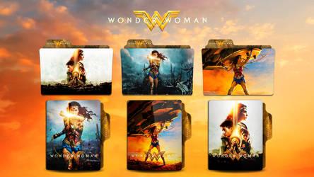 Wonder Woman Folder Icon by faelpessoal