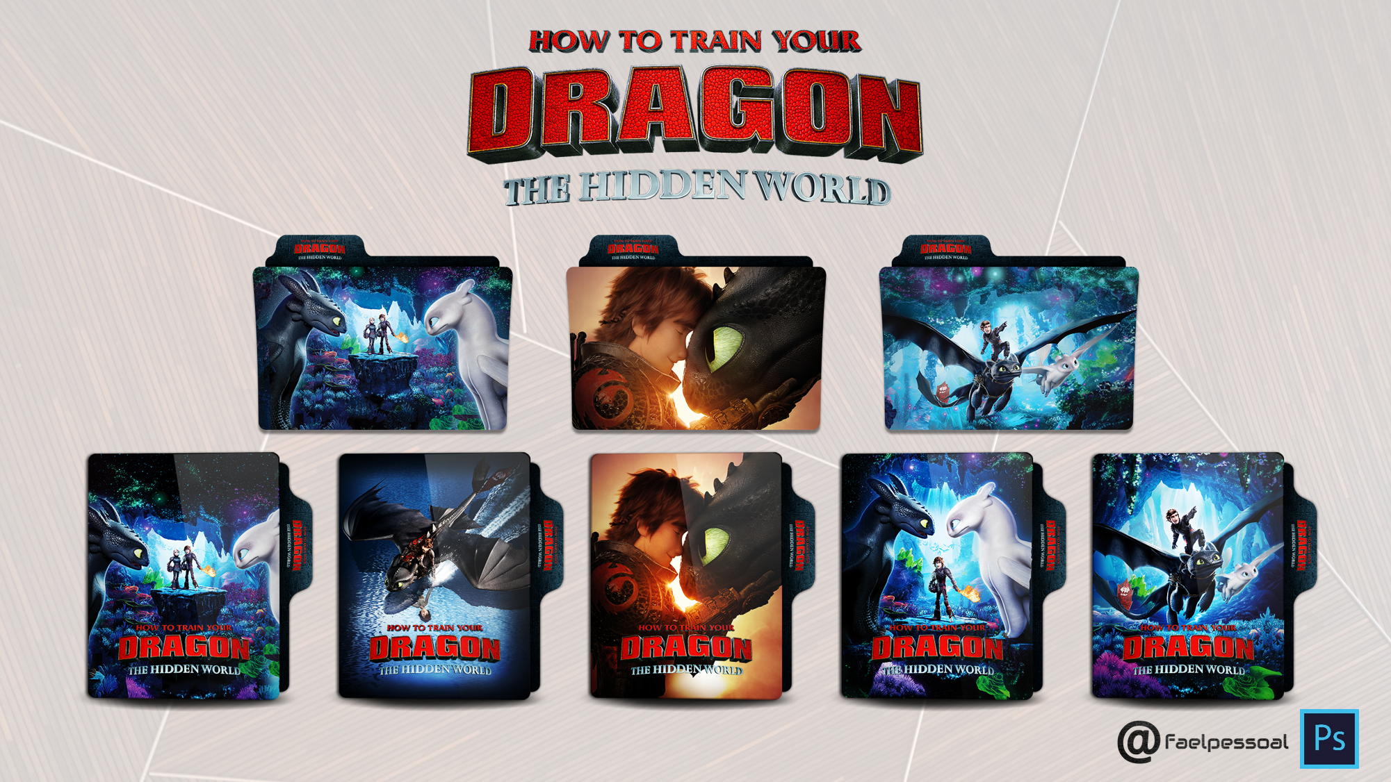 How To Train Your Dragon The Hidden World By Faelpessoal On Deviantart