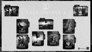Justice League Zack Snyder's Folder Icon