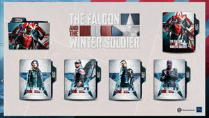 The Falcon and The Winter Soldier Folder Icon