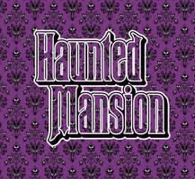 Haunted Mansion Wallpaper pattern IllustratorCC