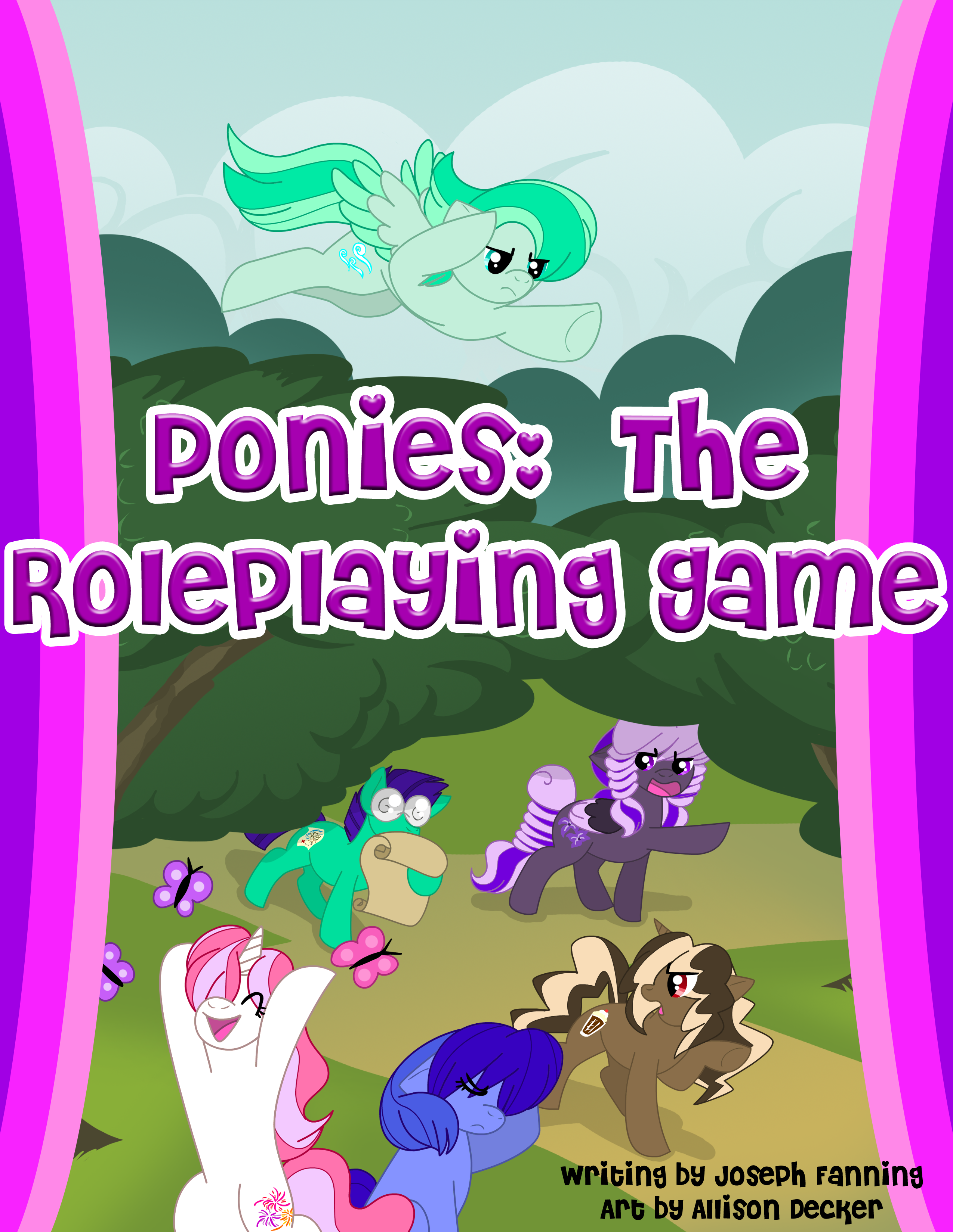 Pony RPG First Draft by MSFHWraith