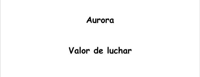 Historia de Aurora