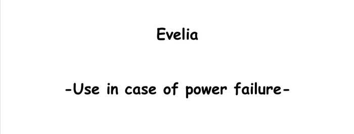 Evelia story