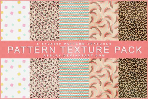 Pattern Texture Pack Assjay By Assjay On Deviantart