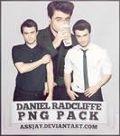 DANIEL RADCLIFFE PNG PACK   ASSJAY
